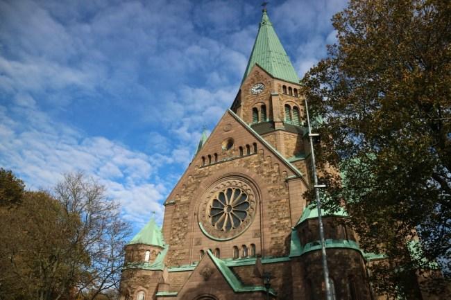 Sofia kyrka - Vitabergsparken Stockholm