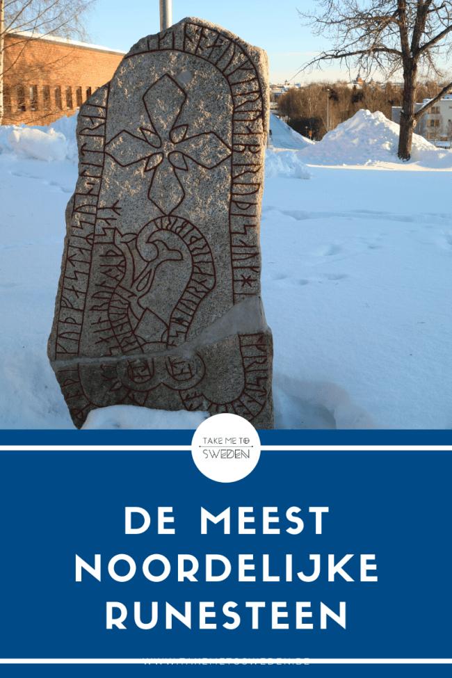 Frösö, de meest noordelijke runesteen - Östersund