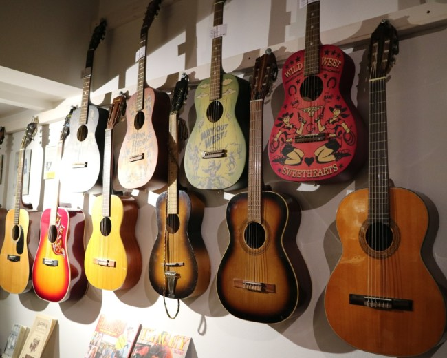 Guitars - The Museum Umeå