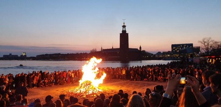 Valborg Stockholm - Walpurgisnacht