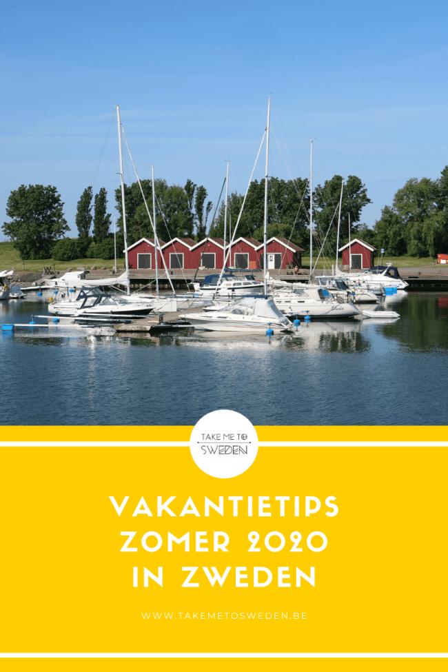 Vakantietips zomer 2020 in Zweden