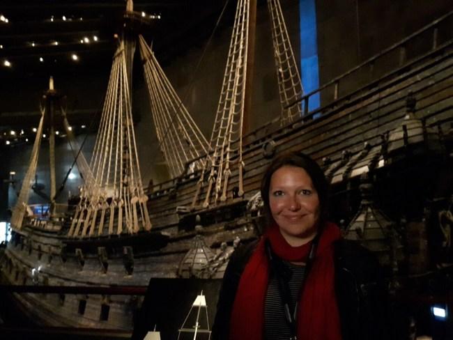 Selfie bij Vasa