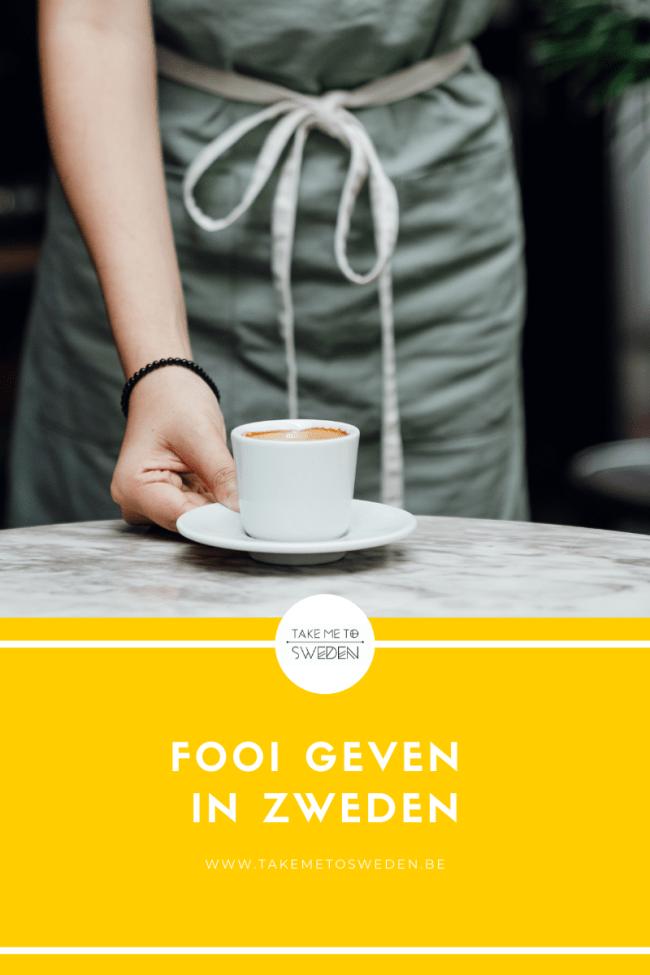 Fooi geven in Zweden