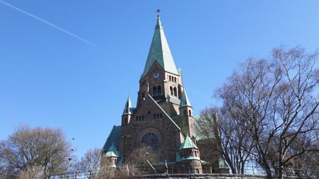 Sofia kyrka Vitabergsparken