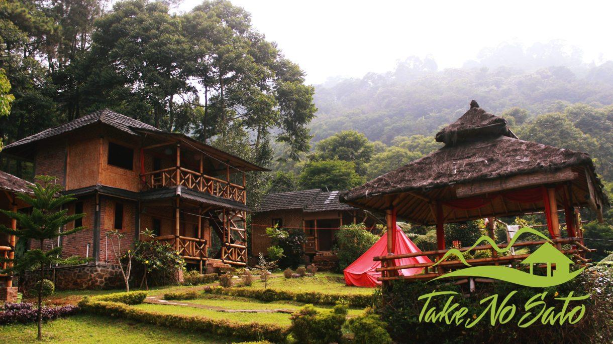 Villa Puncak Murah Dengan Kolam Renang