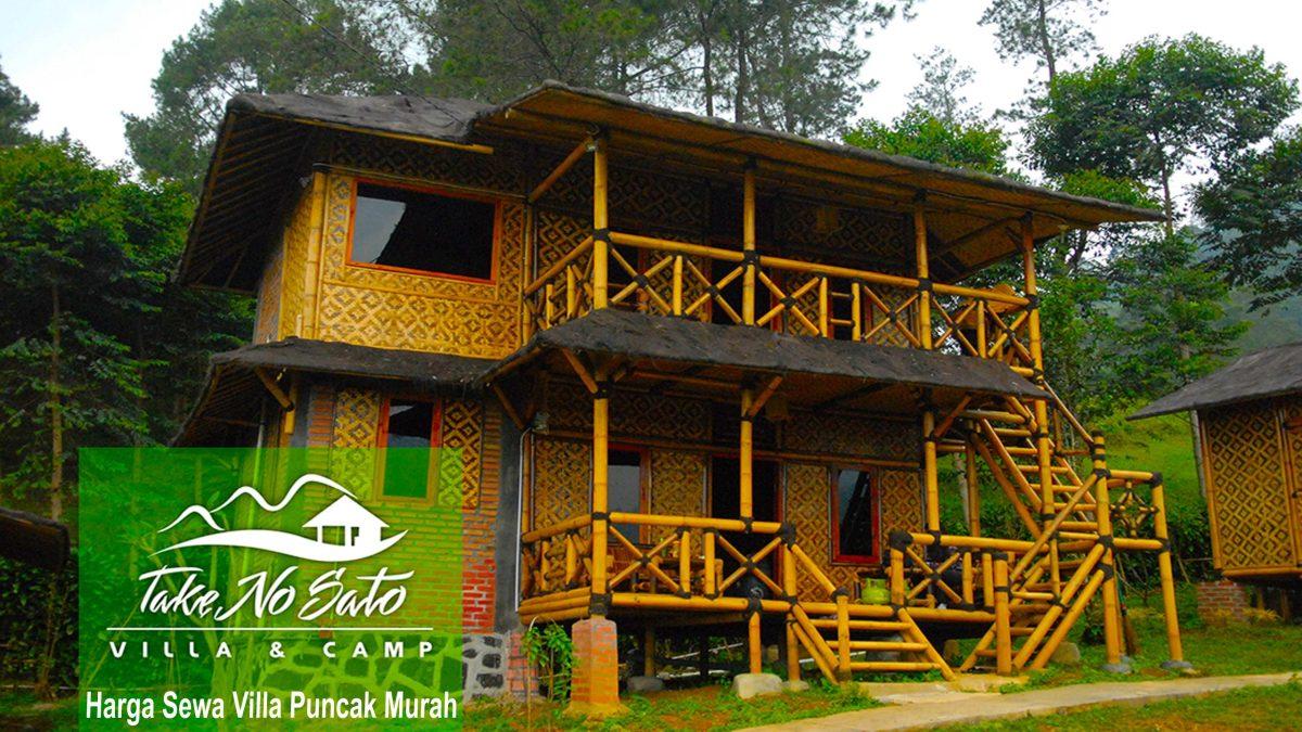 Harga Sewa Villa Puncak Murah