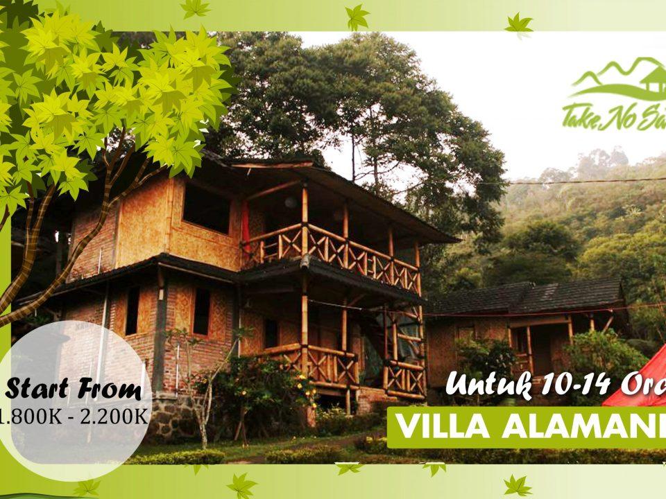 Sewa Villa Puncak 2 Kamar Murah