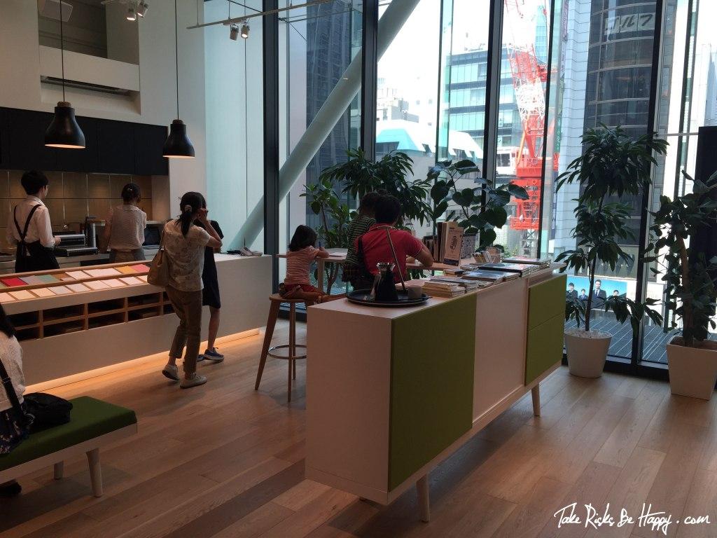 Itoya, Ginza, Interior Design