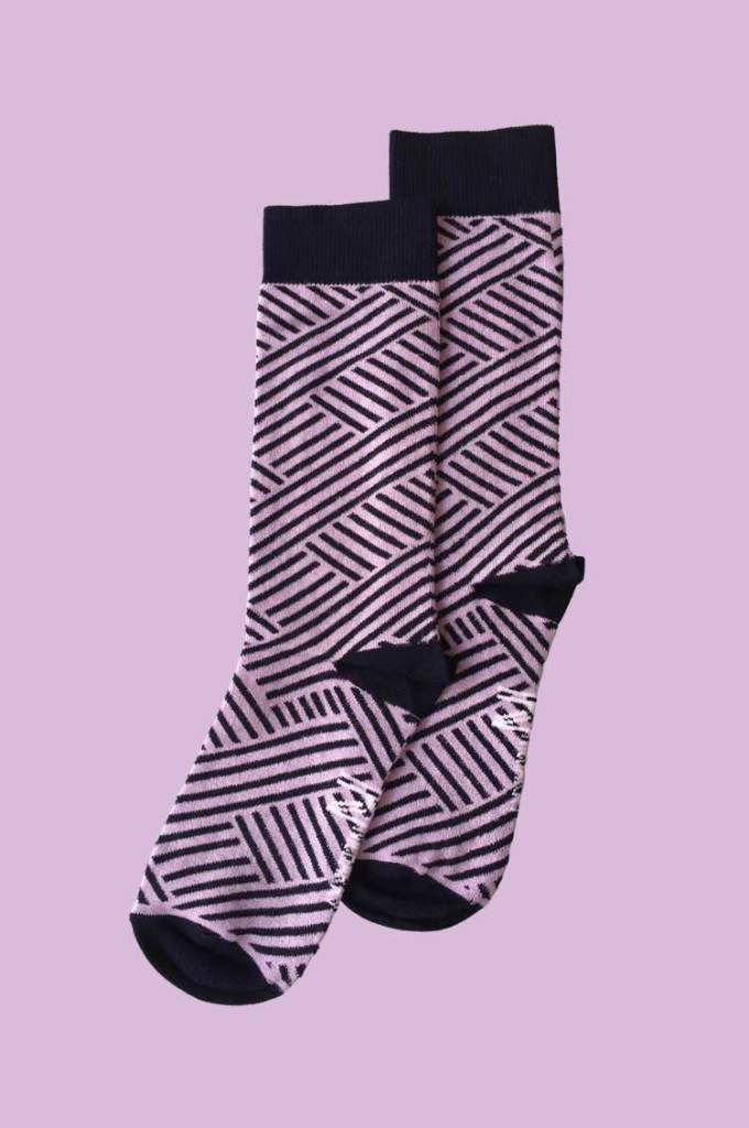 Purple-Stripe-Sock