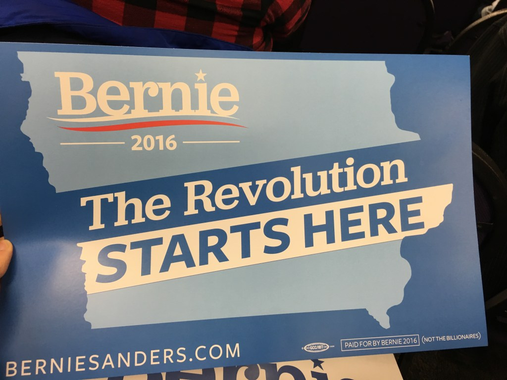 Bernie Sander's Political Revolution
