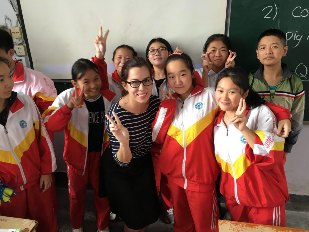 Teach English China
