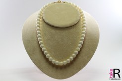 News Jewelry Extra White Coral Necklace 9½-10mm