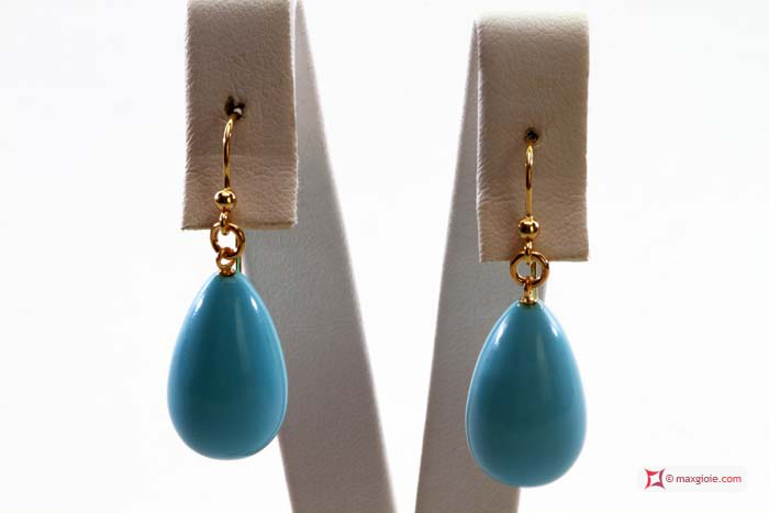 News Jewelry Turquoise Earrings