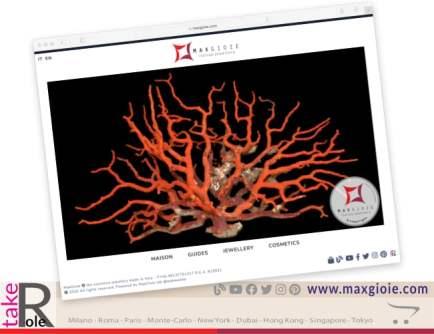 MaxGioie presents the new website