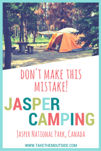 This is how you get the good campsites in Jasper National Park | #jasper #jaspernationalpark #canada