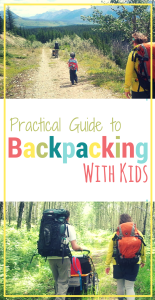 How best to prepare and what considerations need to be made when planning for a family backcountry camping trip... taking kids into the wilderness.