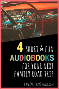 Planning a family road trip? Borrow or download these audiobooks to keep kids (and adults too) entertained. These suggestions are short, fun, and will spark some great family discussion.