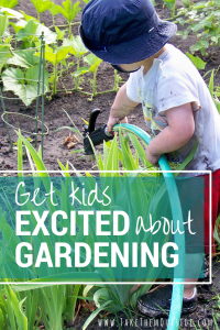 How to get your kids into the garden. My kids have their very own garden space and this has lead to wonderful gardening adventures for the whole family.