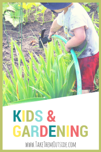 Gardening with kids: simple and easy ways to encourage excitement and a love of nature. | #gardening #kidsgardening
