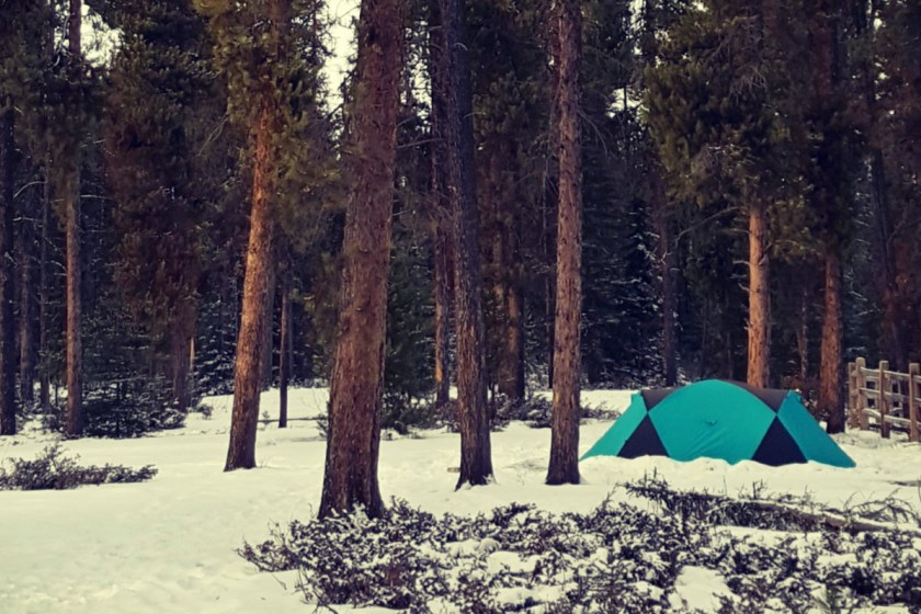 Camping in Jasper? Don't forget to make a campsite reservation.