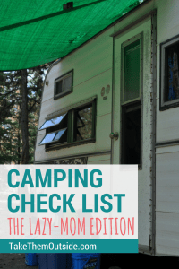 How to make packing for your family camping trip so much easier | free downloadable camping packing lists | #camping #printables