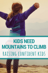 Using natural approach and nature to help children grow more confident | #selfesteem #kids