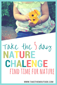 Help your family learn to appreciate nature more | #naturechallenge #getoutside #naturelove #outdoorfamily