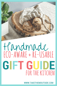 Environmentally friendly and practical gifts for the kitchen | #reusable #giftguide #giftsforkitchen