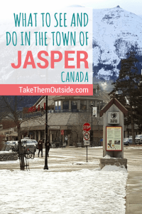 Planning a family vacation to Jasper National Park? Find out what to see and do in the town of Jasper while you're there | Family travel guide to Jasper National Park in Alberta, Canada | #jasper #jaspernationalpark