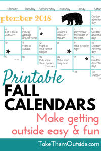 printable monthly activity calendar