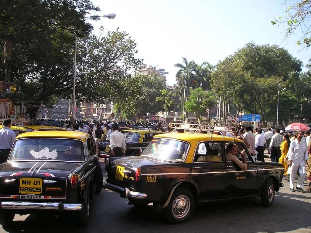 Mumbai traffico strada