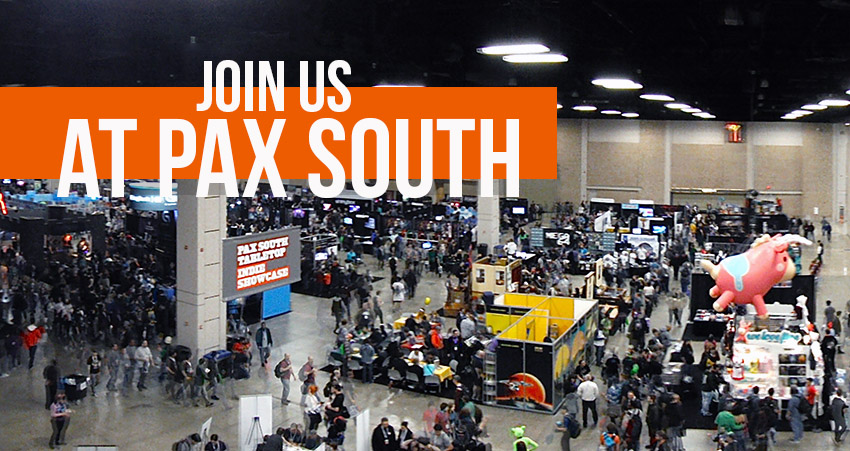 We're Heading to PAX South