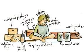 Work Hard, a Comic By Shing Yin Khor