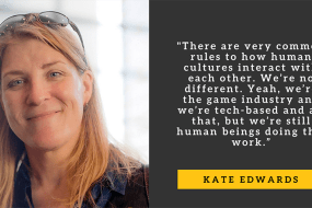 Take This Board Member Kate Edwards Talks Crunch, Mental Health, and the Power of Games