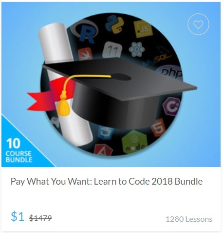 Learn to code 2018 Bundle