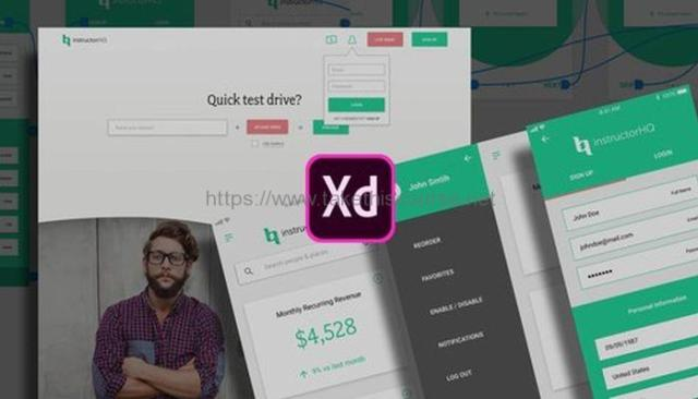 Web UI UX Design using Adobe XD – Adobe Experience Design