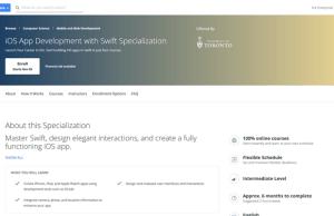 iOS App Development with Swift Specialization