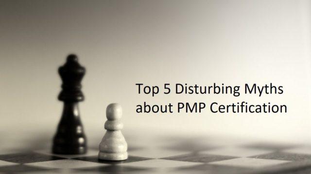 pmp certification myths