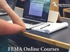 Fema online courses