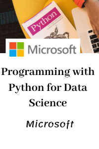 Programming with Python for Data Science