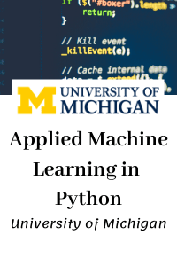 Applied Machine Learning in Python
