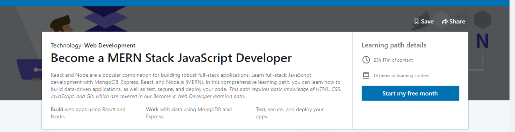 Become a MERN Stack JavaScript Developer