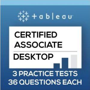 Tableau Desktop Certified Associate Exam