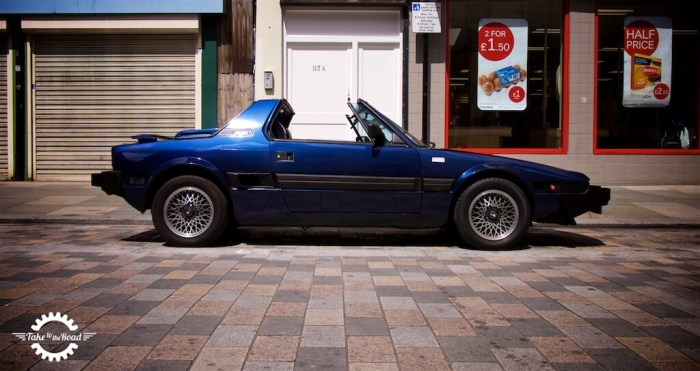 Take to the Road's Bertone x1/9 Gran Finale
