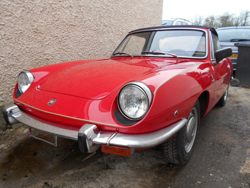 hight resolution of take to the road fiat 850 spider feature
