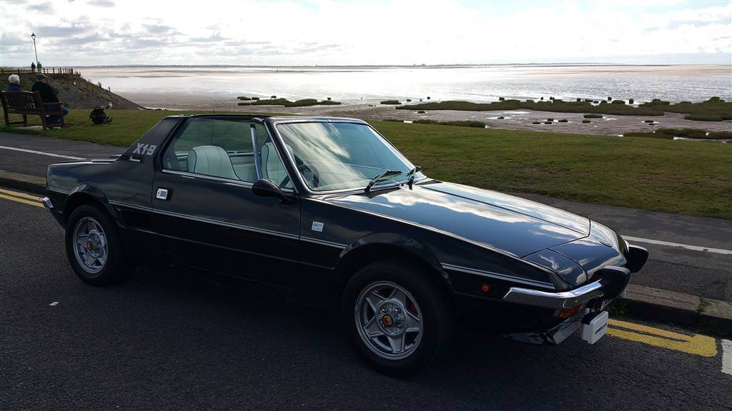 ebay find classy in black 1978 fiat x19 lido take to the road. Black Bedroom Furniture Sets. Home Design Ideas