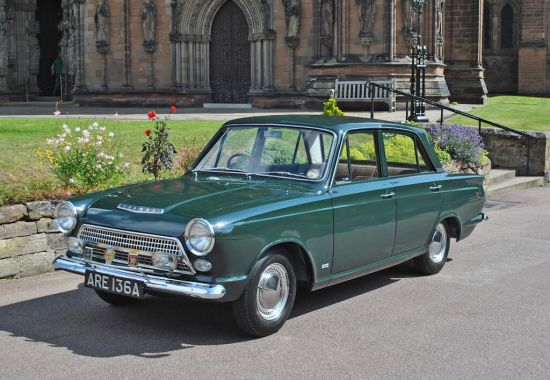 Take to the Road Feature 1963 Ford Cortina 1500 GT