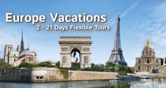 Europe Vacation Tour Package