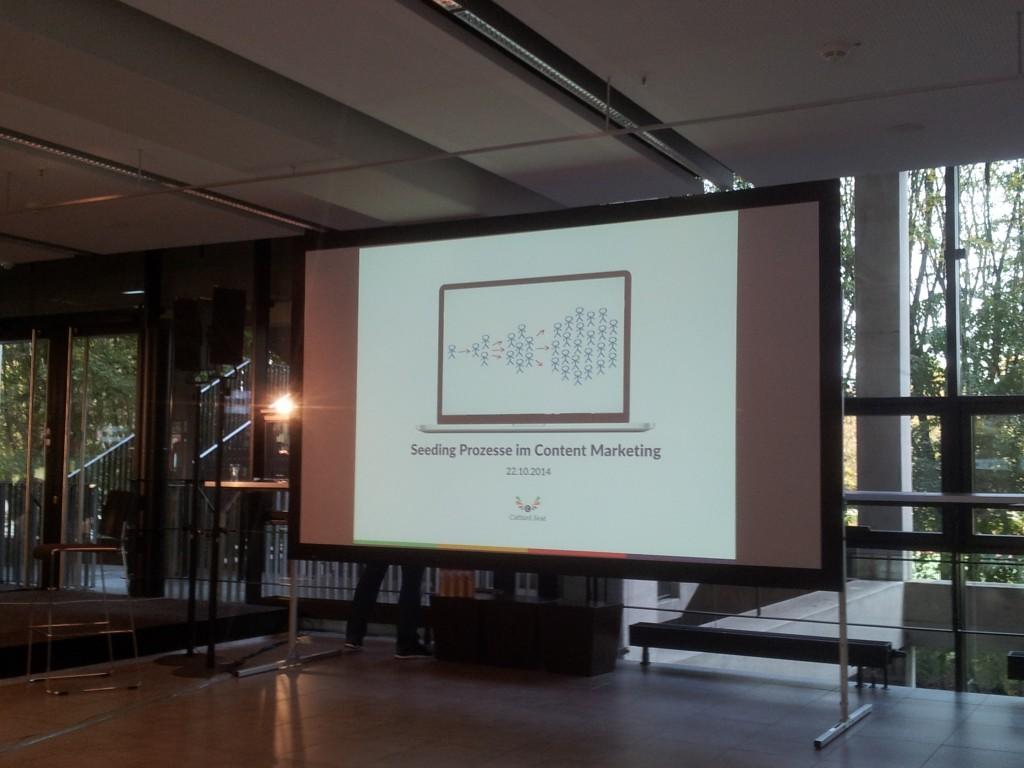 SEODay-2014 - Sepita Ansari - Vortrag Seeding im Content Marketing
