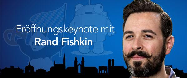 Rand Fishkin wird mit einer Keynote die SMX 2016 eröffnen.